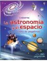 La astronomía y el espacio. Libro de pegatinas.
