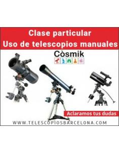 Clase particular Uso de Telescopios Manuales