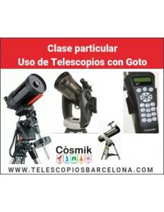 Fecha a convenir-Clase particular Uso de Telescopios con Goto