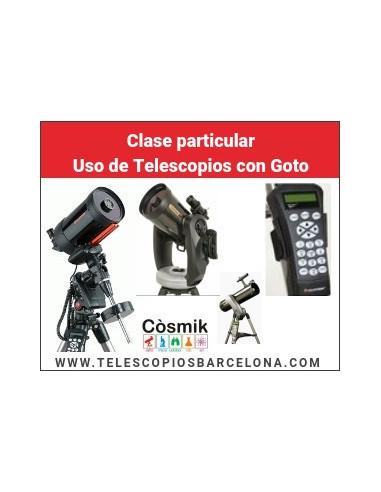 Clase particular Uso de Telescopios con Goto