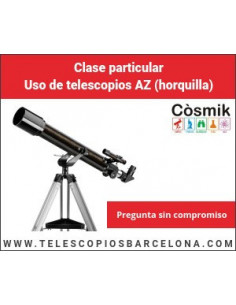 Clase partic Telescopios horquilla (iniciación)