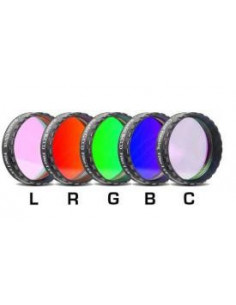 "Set de filtros LRGBC para CCD 1.25"""