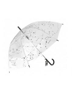 Paraguas constelaciones - transparente