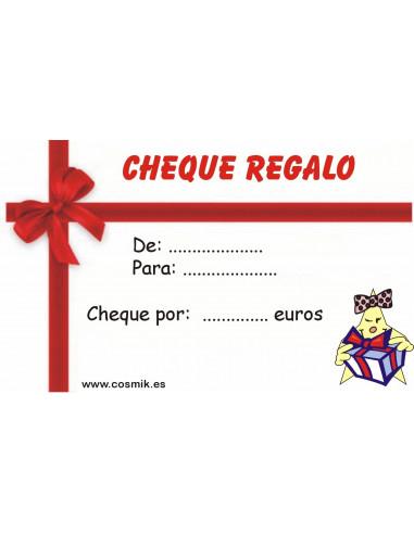 cheque regalo imagen