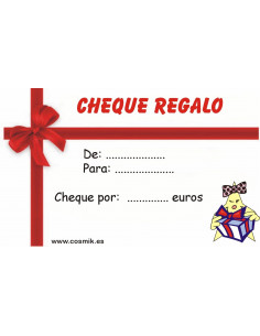 Cheque regalo 25 euros