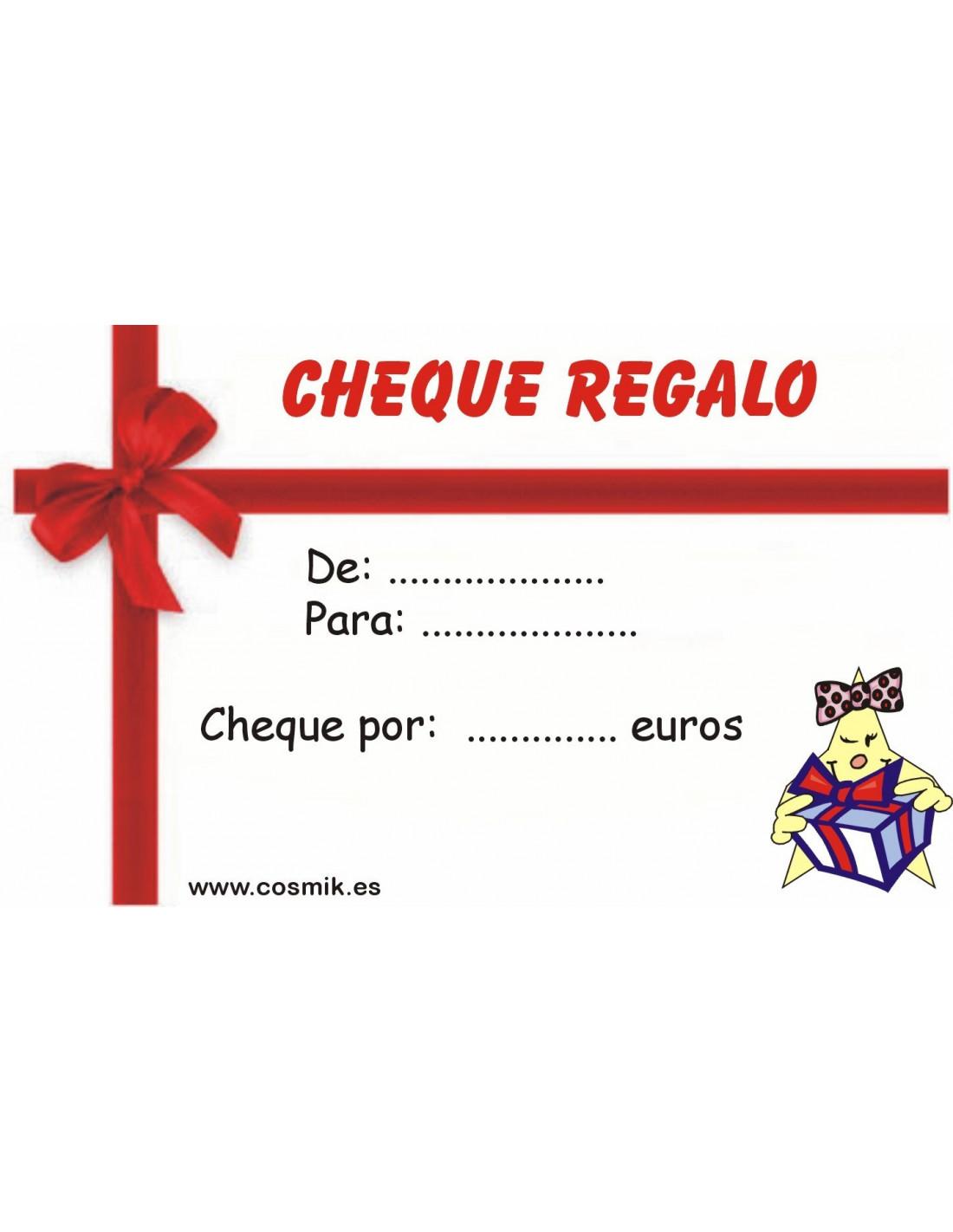 Cheque Regalo > Cheque regalo 100 euros