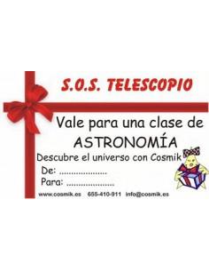 Regalo Clase Astronomia