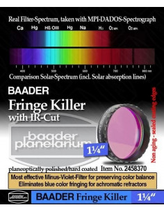 Fringe Killer with IR-Cut Baader